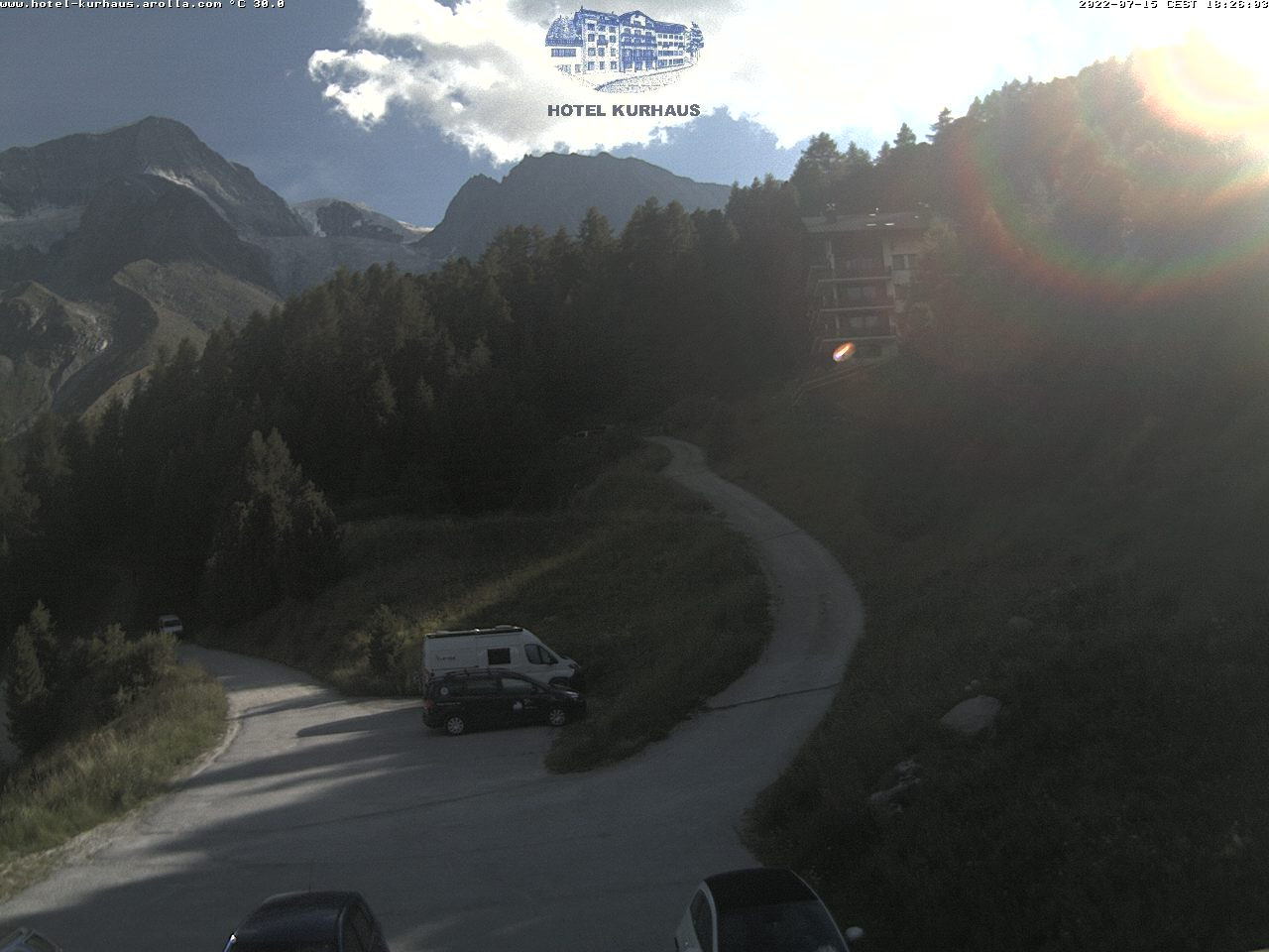 Meteo Valais, Webcam Arolla