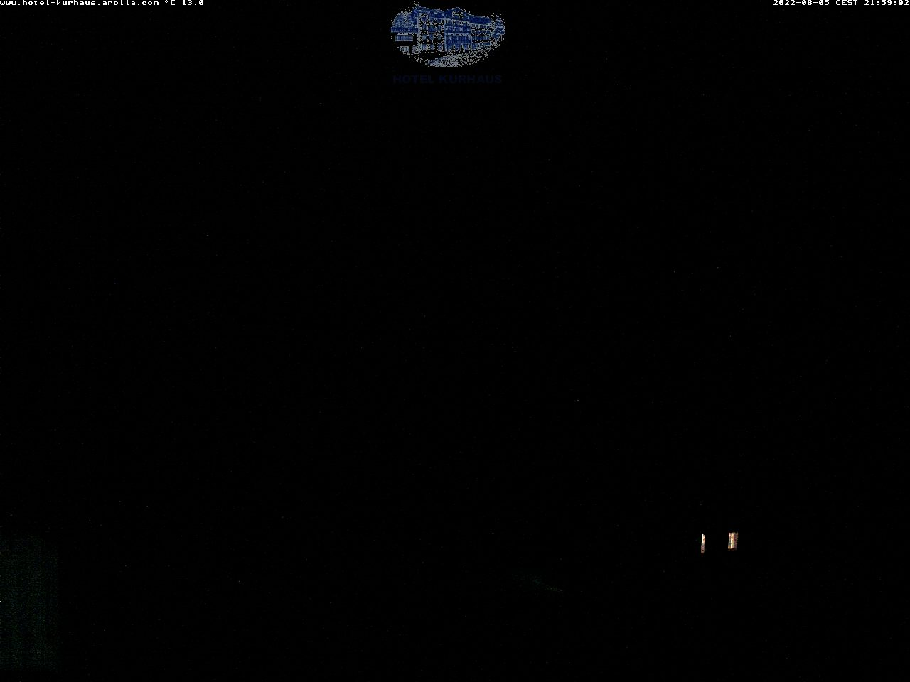 WEBCAM AROLLA, vue sur le Mont Collon