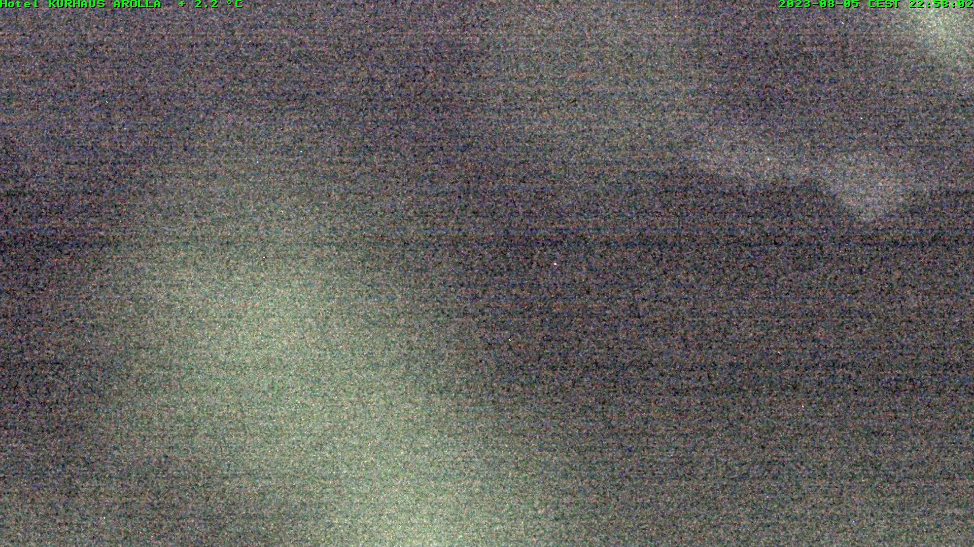 Webcam d'Arolla (vue sur le glacier de Tsidjorenouve)